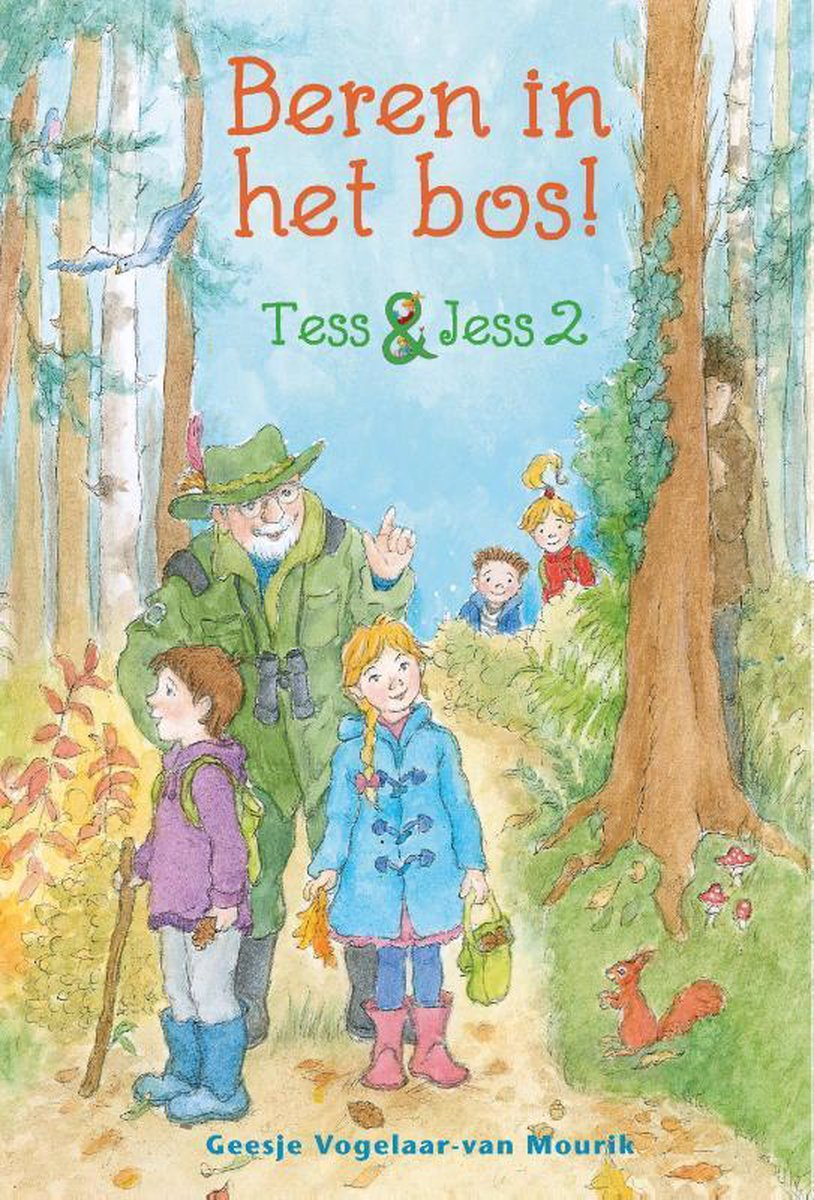 De klas van Tess en Jess gaat naar het bos. Met de opa van Koen. Hij is boswachter en weet veel van het bos. Jess vindt de paddenstoelen mooi. Tess en Bram hebben een ander plan. Ze gaan op zoek naar het hol van een vos. Maar wat horen ze dan voor geluid?