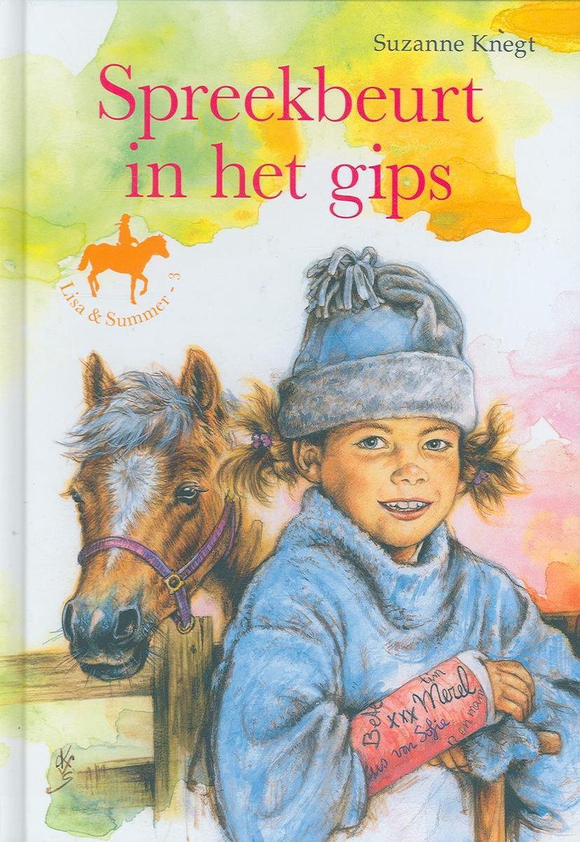 Lisa zit sinds een paar weken op rijles bij manege de Hoefslag. Daar ontdekt ze dat Max een spreekbeurt over pony's gaat houden. Ook haar hartsvriendin Merel, die in de groep 6 zit, mag een spreekbeurt houden.